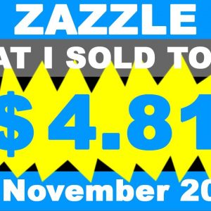 ZAZZLE What My Wife :) Sold Today 14. November 2020.